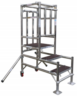 STEP FOLD PODIUM ( 1 persoons steiger)