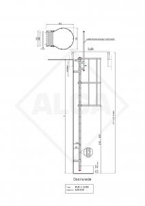 Kooiladder KLB1-LUIK