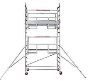 Steiger ALGA - Aluminium Rolsteiger breed 135 x 2500 cm RDAGR