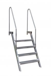 De railingtrap of zoals die in de maritieme wereld wordt genoemd; 'bulwark ladder' van ALGA is al jarenlang een begrip in de maritieme wereld.