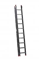 EMPIRE Opsteekladder 2 delig 2x10 met ladderhaken 111210
