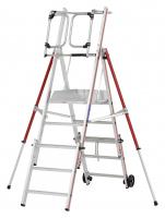 Platformladder 3-5 sporten Uitschuifbaar ALGA 299007