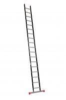ALPINE Enkele ladder met stabiliteitsbalk 1x18 121118
