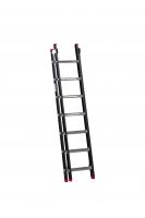 EMPIRE Opsteekladder 2 delig 2x7 met ladderhaken 111207