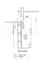 Gevelladder GLB-1-LUIK