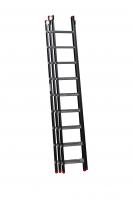EMPIRE Opsteekladder 3 delig 3x9 met ladderhaken 111309