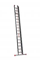TOWER schuifladder 2 delig met stabiliteitsbalk ingeschoven ALGA