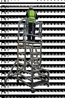 Stepfold03 Veilige 1 persoons vouwsteiger 4 meter werkhoogte 300003
