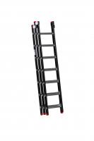EMPIRE Opsteekladder 3 delig 3x7 met ladderhaken 111307