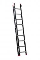 EMPIRE Opsteekladder 2 delig 2x9 met ladderhaken 111209