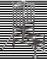 Stepfold01 vouwsteiger of kamersteiger voor 1 persoon 300001