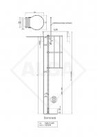 Kooiladder voor dakluik KLB-2-LUIK ALGA