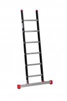 ALPINE Enkele ladder met stabiliteitsbalk 1x6 121106