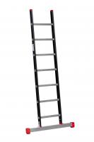 ALPINE Enkele ladder met stabiliteitsbalk 1x7 121107