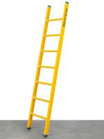 Kunststof enkele ladder 1x7 sporten - ALGA
